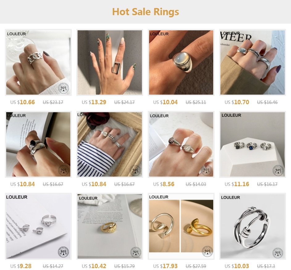 LouLeur Design 925 Sterling Silver Ring Fashion Petal Pearl Rings Opened For Women Fashion Fine Jewelry Silver 925 Gifts