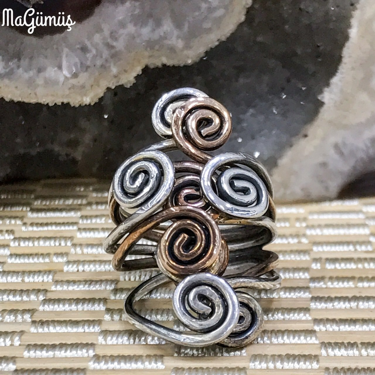 Triskele Special Design Authentic sterling Silver Ring