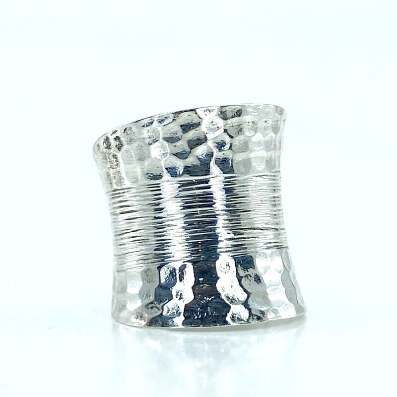 Manufacture hand Sign Long Fingers For Authentic sterling Silver Ring