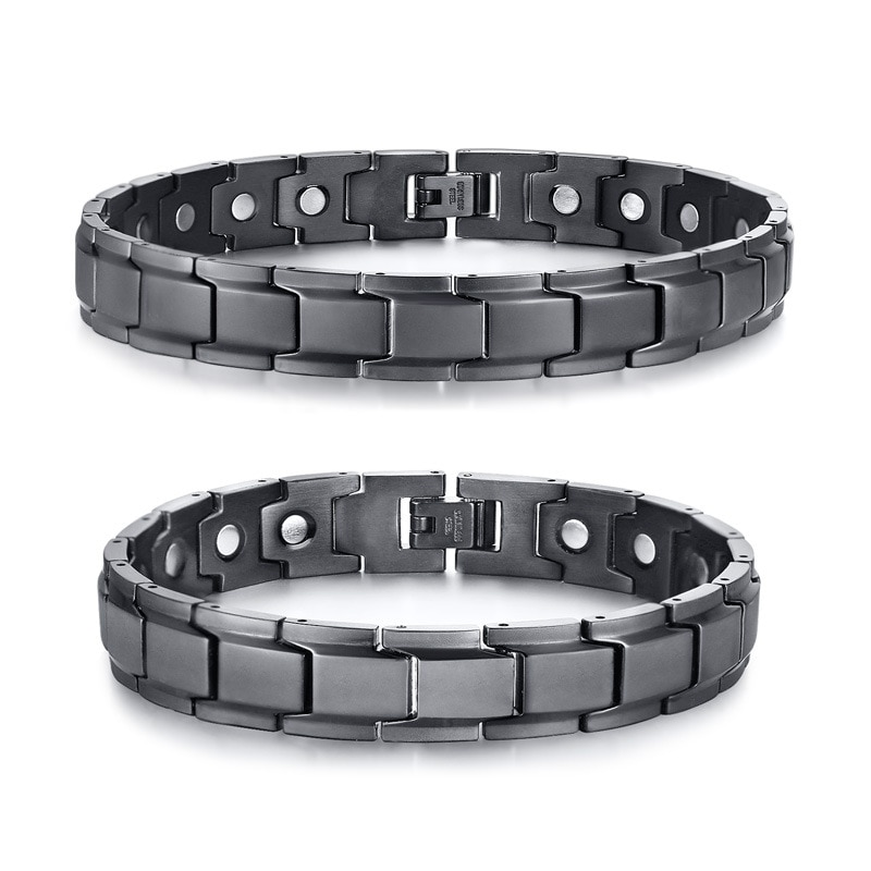 New Fashion Healthy Magnetic Bracelet Men Therapy Magnets Bracelets Bangles for Women Men Health Care Jewelry Pulseira Masculina