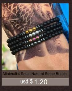 Boho 4mm Polymer Clay Beads Bracelet Bohemian Mixcolor Braclet For Women Girls Beach Wristband Jewelry Femme