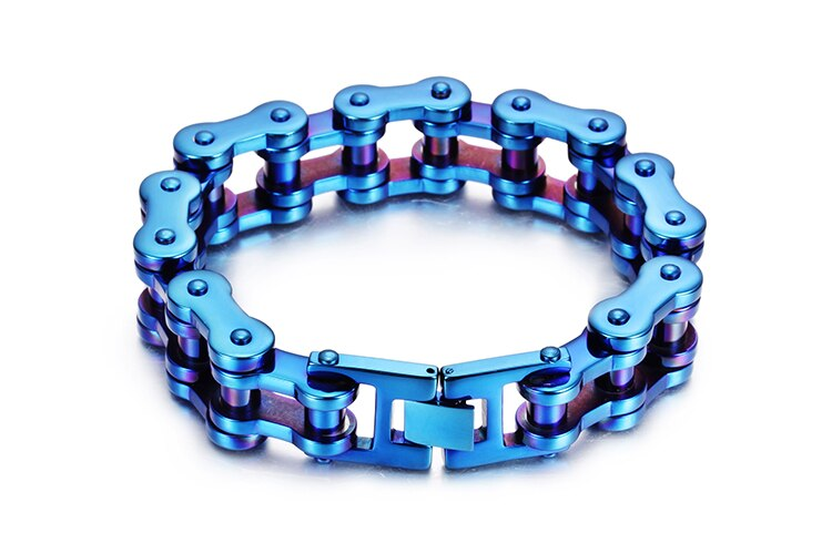 Cool Mens Bicycle Biker Motorcycle Chain Bracelet Friendship-Bracelets 2019 19MM Stainless Steel Bracelet Men Heavy Dropshipping