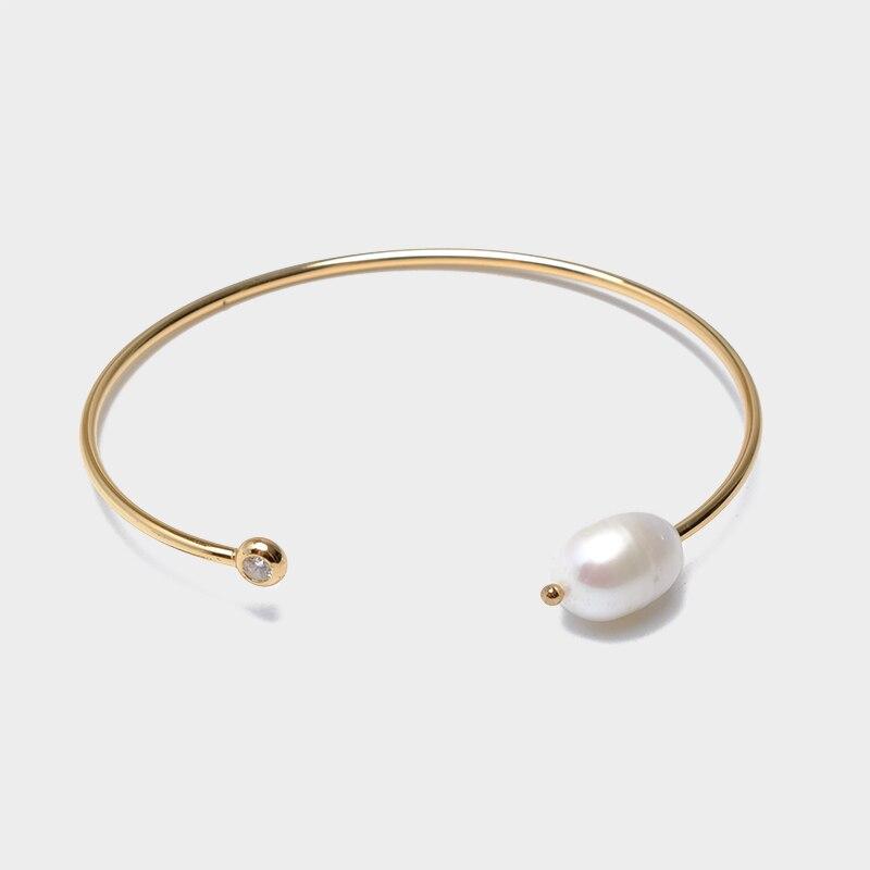 Amorita boutique trendy pearl and cz Bangles