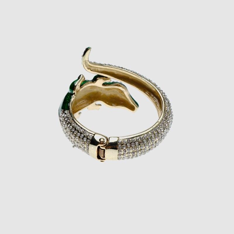 Amorita boutique Unique green lizard bracelets