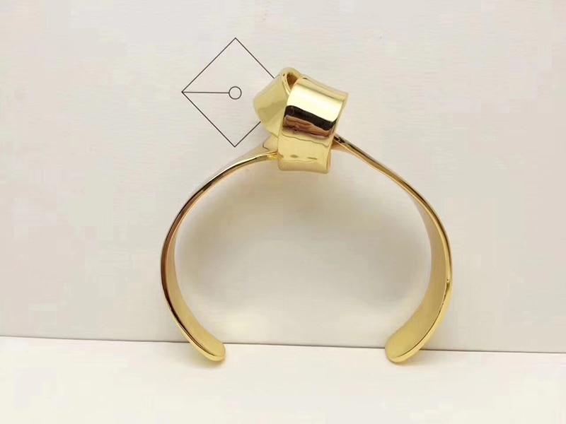 Amorita boutique Gold knotted design bracelet stylish ladies bangles