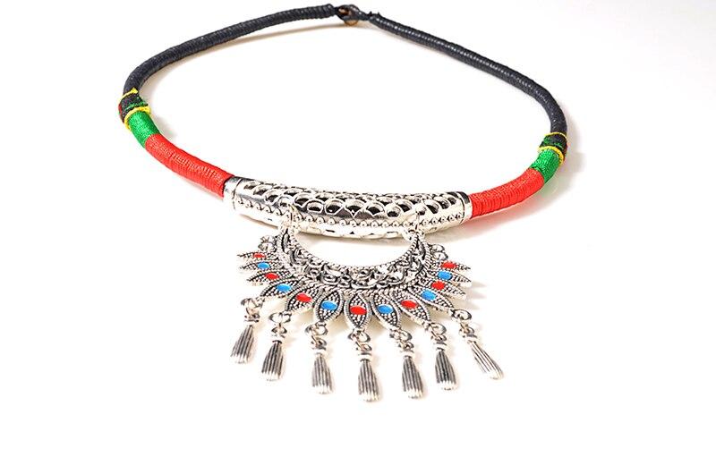 UDDEIN Bohemian Necklace & Pendant Tassel Pendant Fashion Jewelry Wholesale Vintage Torques Statement Necklace Chokers Collar