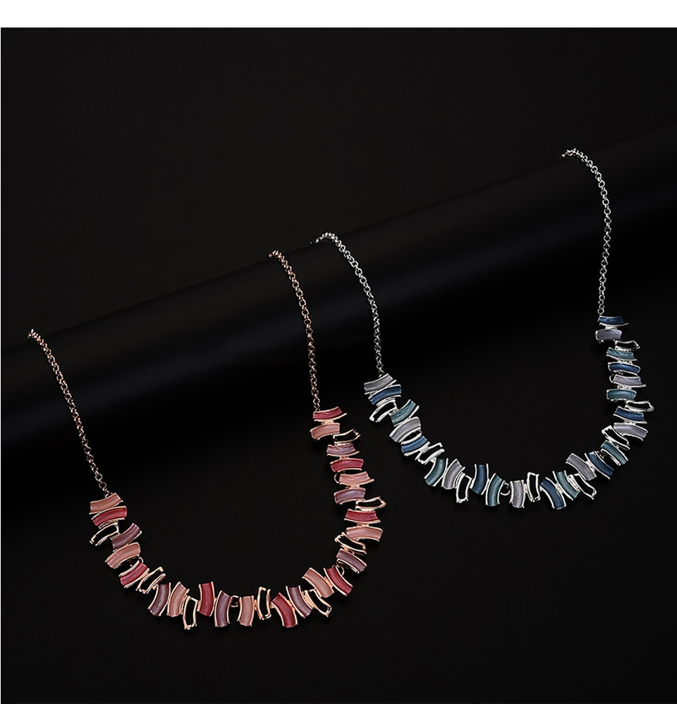 Cring Coco 2020 New Women Choker Necklace For Girls Female Enamel Geometric Necklaces Jewelry Party Gift Accessory Statement