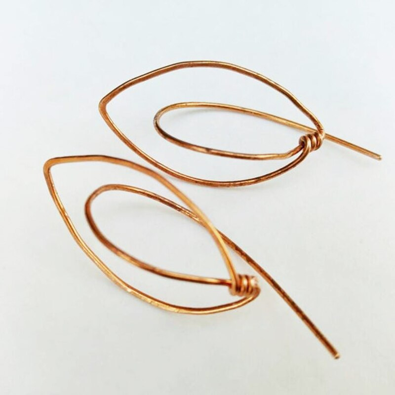 925 Silver Piercing Earrings  Handmade Jewelry Circle Gold Filled Jewelry Punk Oorbellen Minimalist Earrings For Women