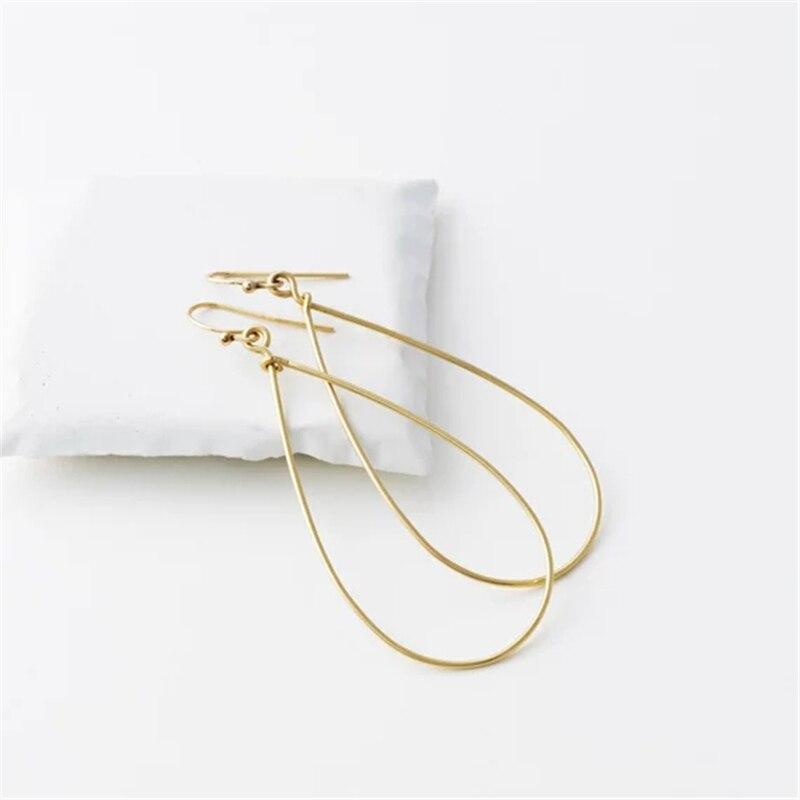 Handmade 925 Silver Earrings Vintage Jewelry Gold Filled Orecchini Brincos Pendientes Earrings For Women Oorbellen