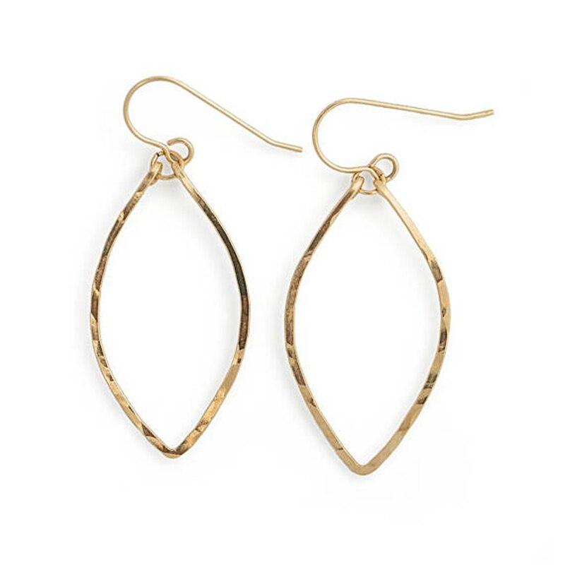 925 Silver Handmade Hoop Earrings Jewelry Vintage Boho Hammered 14 Gold Filled Brincos Pendientes Earrings For Women Oorbellen
