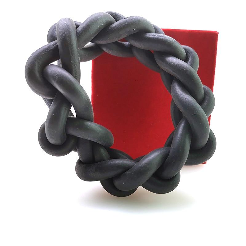 YD&YDBZ 2019 New Fashion Bracelets For Women Jewelry Handmade Rubber Jewellery Elasticity Charm Bracelets Strange Chain Bangles
