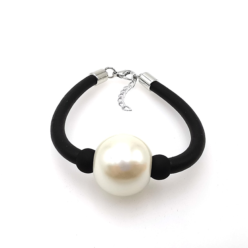 YD&YDBZ New Pearl Bracelets Women Chian Bracelet Rubber Rope Handmade Birthday Gift Girl Hand Chains Jewelry Fashion Bracelets