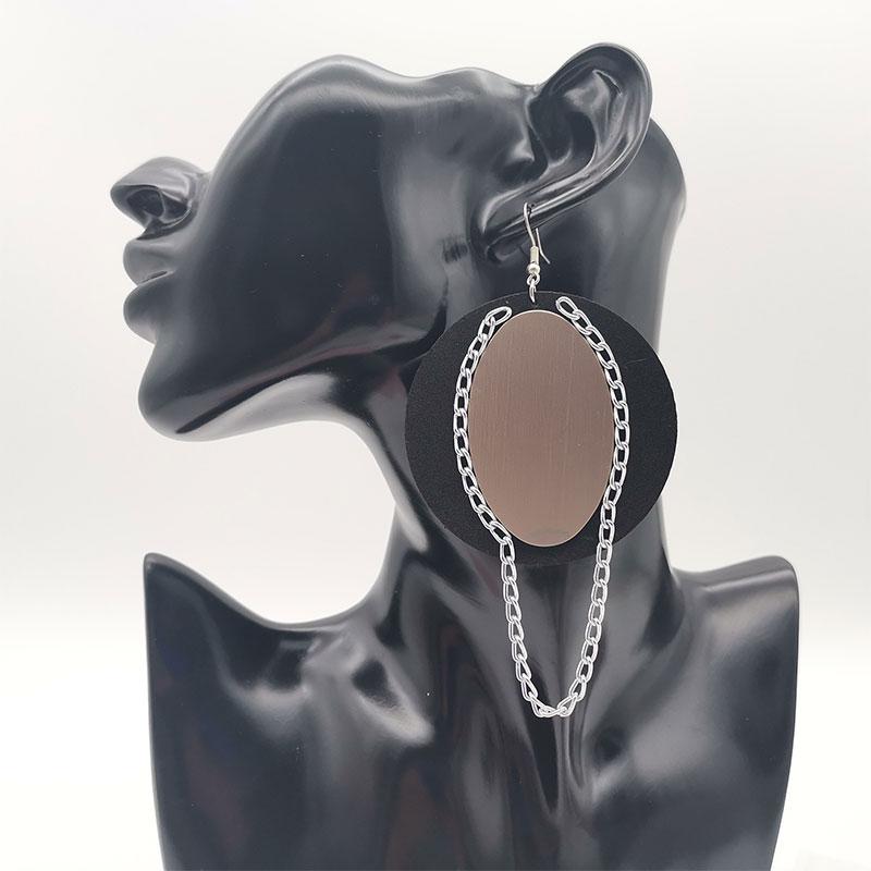 Women Earings A pair Handcrafted  kolczyki boho Big Dangler kpop Rubber Jewelry 2020 Art Brands Earrings Rings Fashion Punk Styl