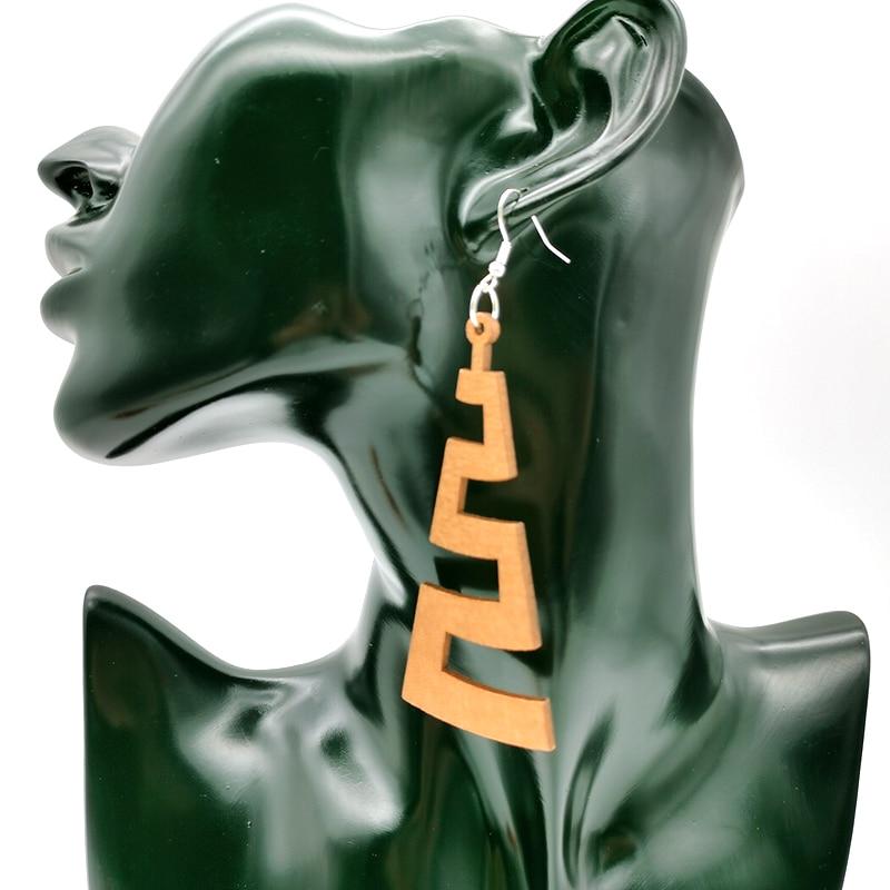 YD&YDBZ New Tree Leaf Drop Earrings For Women Wood Earrings Bohemia Style Jewelry Wooden Accessories Wedding Jewellery Wholesale