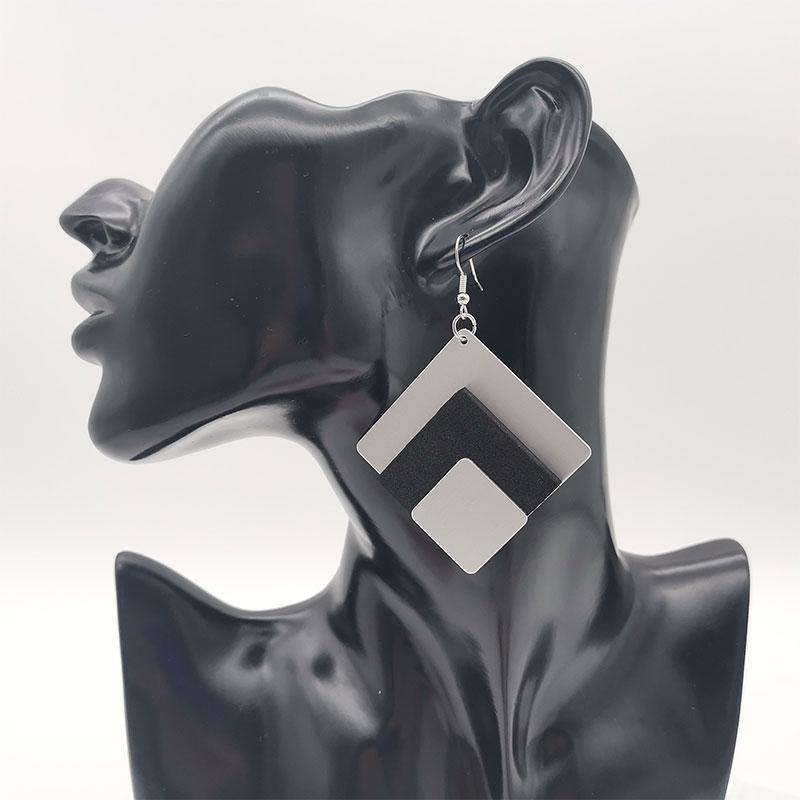 20 Handcrafted Drop Earrings Wood Jewelry Women Pendant Big Earrings Africa Ethnic Style Accessories Wedding Foam Earring Gifts