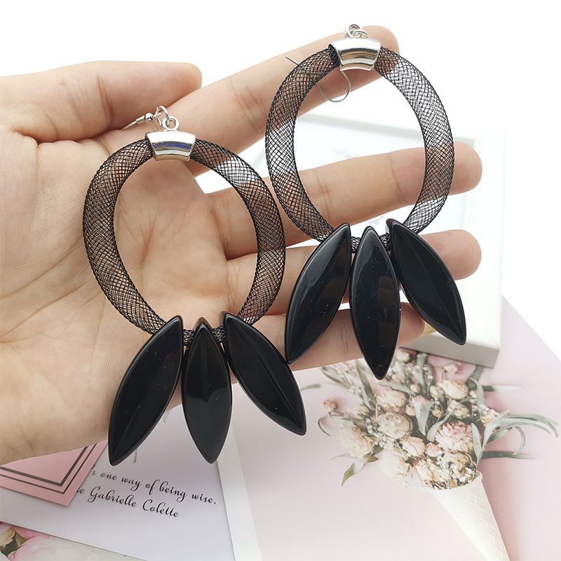 Truly Handcrafted Earring Stainless Steel Aluminum Earring Jewelry for Women kolczyki Aros aretes Punk Goth Style Big pendientes