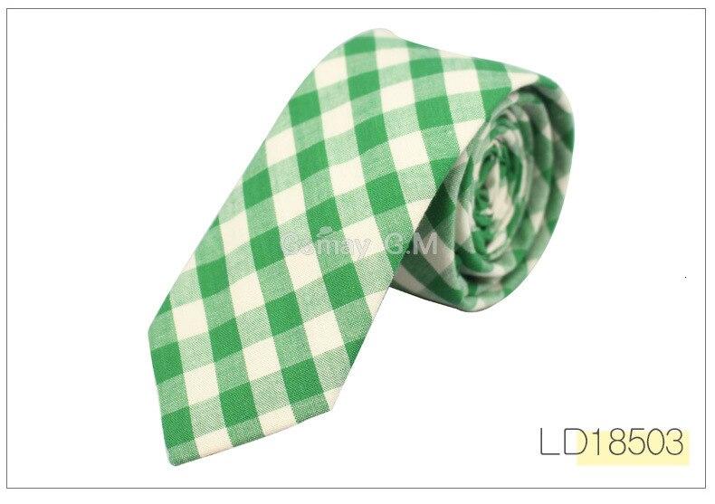 Brand Plaid Ties For Men Fashion Casual Neck Tie Gravatas Cotton Mens Necktie for Wedding Gravata Classic Corbata Red Neckwear