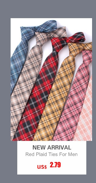 Newest Plaid 100% Cotton Ties for Men 5.5 width Skinny Neckties High Quality Adult Slim Neck Tie Free Shipping