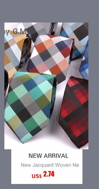 Men's Tie Sets Classic Men Necktie Set Formal Business Bowknots Ties Male Cotton Skinny Slim Ties