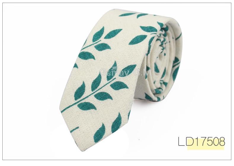 Fashion Mens Neck Tie Linen Skinny Tie for Men Wedding Party Print Neckties Casual Men Retro Neckwear Star Female Cartoon Ties
