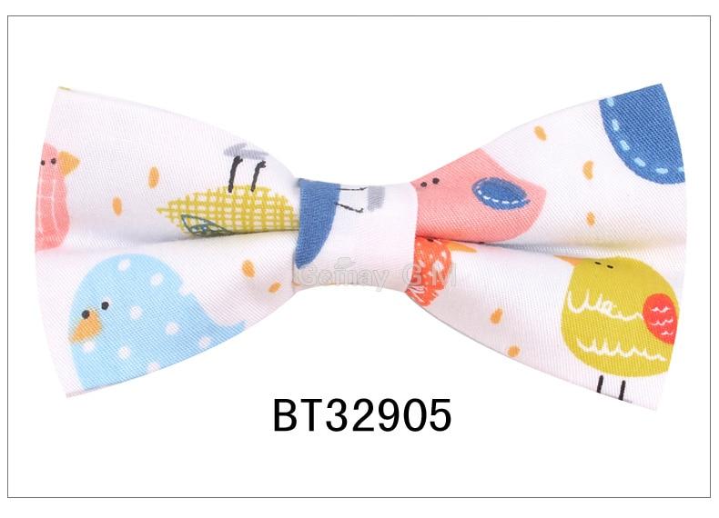 Cotton Men Animal Bowtie Casual Shirts Bow tie For Men Women Bowknot Adult Print Cartoon Bow Ties Cravats Wedding Bowties
