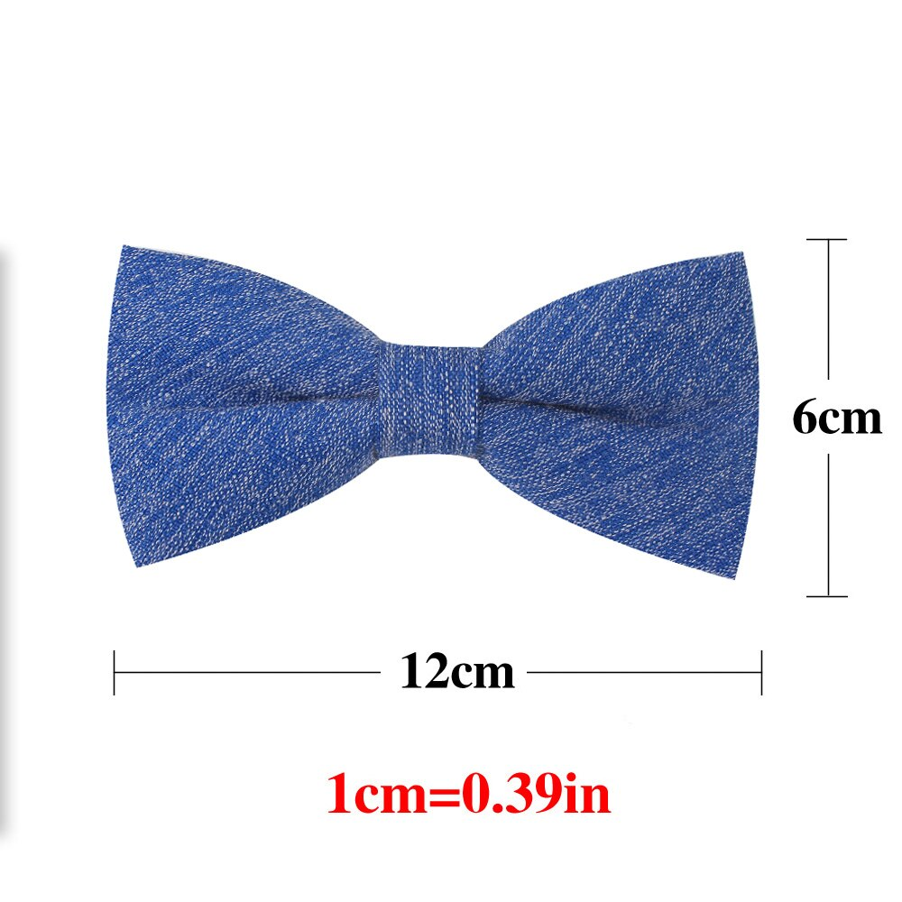 New Classic Plaid Bow ties Adjustable Tuxedo Mens Bow Tie Cotton Bowtie For Men Winter Tie For Business Wedding