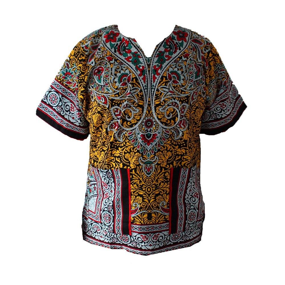 2016 XXXL PLUS SIZE African Fashion Dashiki Design Floral Dress African Traditional Print Dashiki Dress for Men and Women