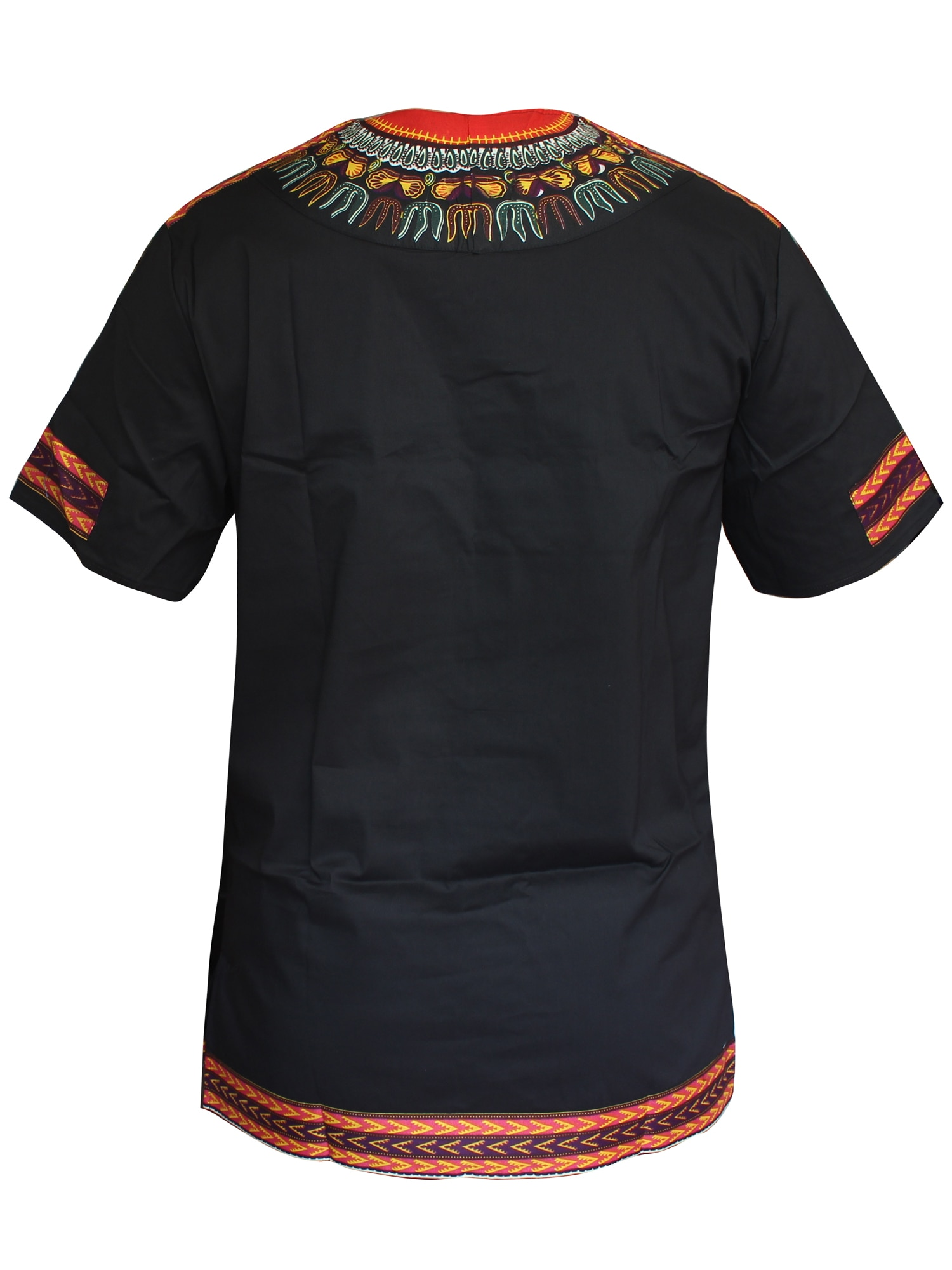 Real Bazin WAX African Men Clothes Dashiki Fashion Cotton Printing T-shirt Man top Traditional Clothes