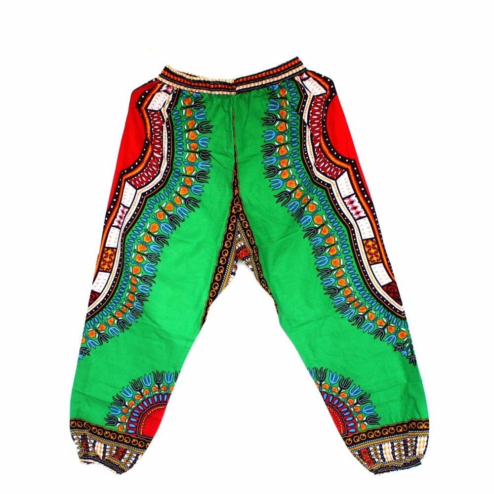 African Dashiki Print Trouser Design women Pants Traditional African Clothing Print Dashiki Fabirc Pants For Women And Men