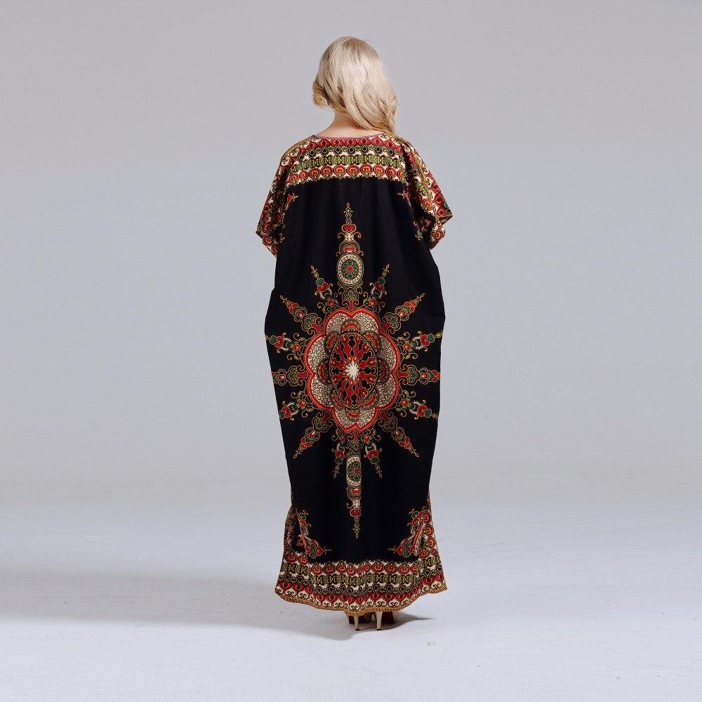 Dashikiage New Arrival Women's 100% Cotton African Print Dashiki Stunning elegant African Ladies Dress