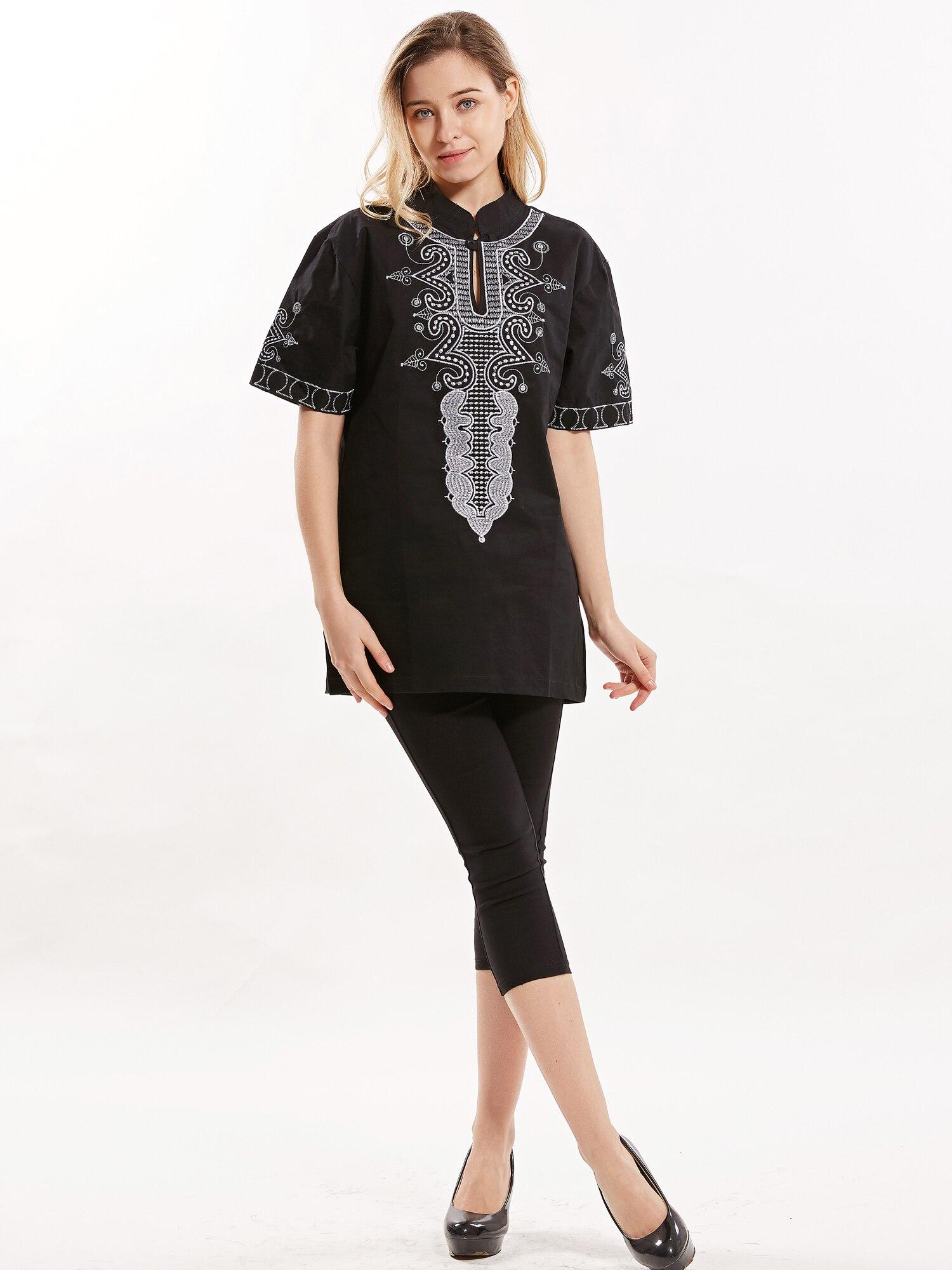 Unisex Dashiki muslim shirt Embroidered Tailored islamic clothing jelaba homme 2019 muslim wear