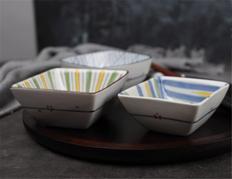 Seasoning hot Sauce Dish cup Ceramic Plate Small Dish Plates Butter mustard Sushi Vinegar Soy Dishes Kitchen Porcelain Saucer