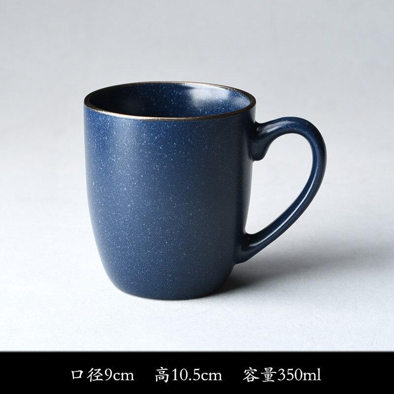 Micro Flaw Japan South Korea Vintage Coffee Cup Ceramic Mug Breakfast Milk Cup Home Office Tea Cup Travel Coffee Mug Funny Mug