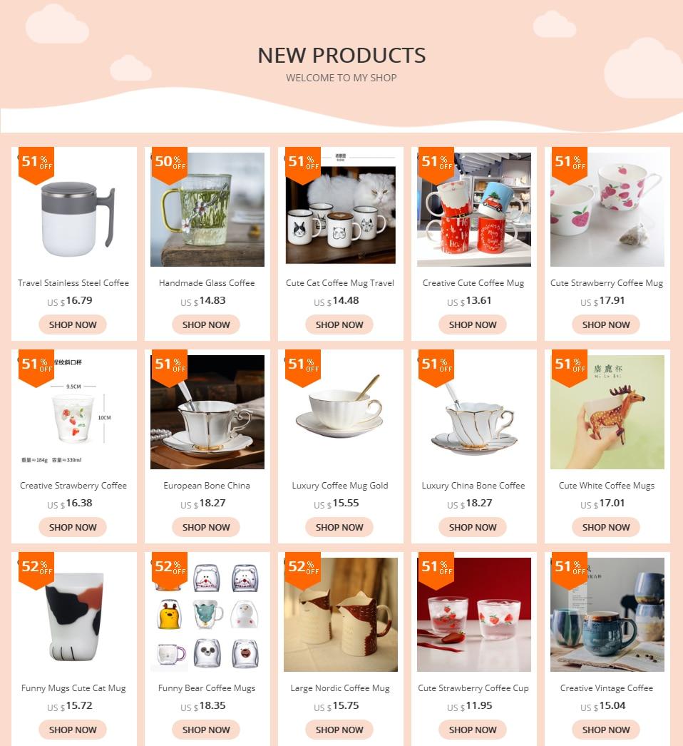 Creative Ceramic Coffee Mug with Lid Spoon Japanese Retro Simple Milk Enamel Mug Travel Coffee Mugs Tazas Para Cafe Funny Cups