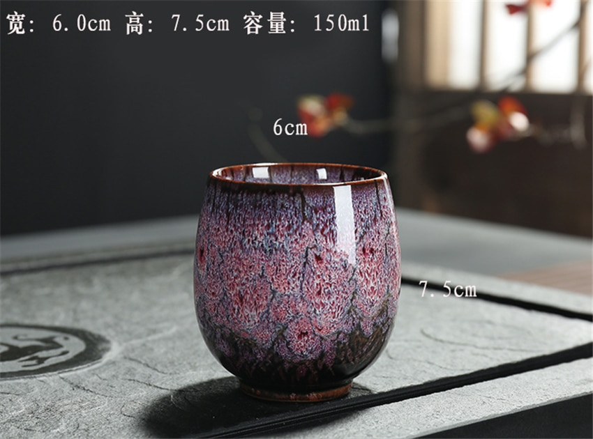 1pc Ceramic Tea Cup Chinese KungFu Tea Set Porcelain Teacup Tea accessories Puer cup Small Tea Bowl Gift
