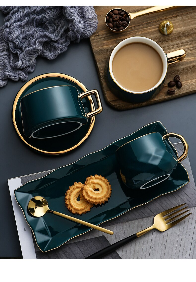 Ceramics Coffee Water Tea Cups and Mugs Travel Double Coffee Mugs with The Handle Mugs Drinking Shot Glasses Creative with Lid