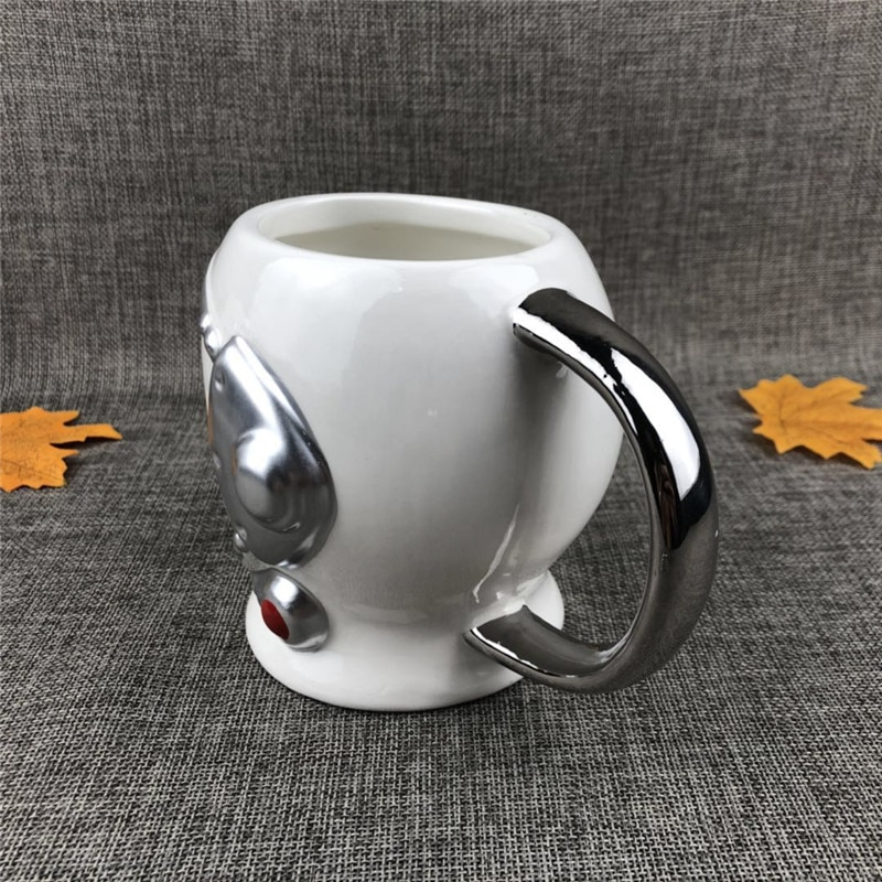 OUSSIRRO Creative Astronaut Space Helmet Ceramics Handel Coffee Large Volume Mug Office Mugs Cup Color Box For Gifts