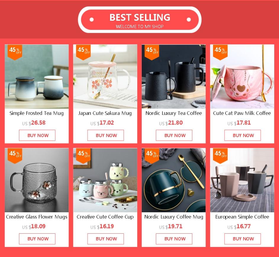 Nordic Luxury Tea Coffee Mug for Man Office Black Ceramic Coffee Cup Simple Vintage Taza Te Water Bottle Home BA50MK