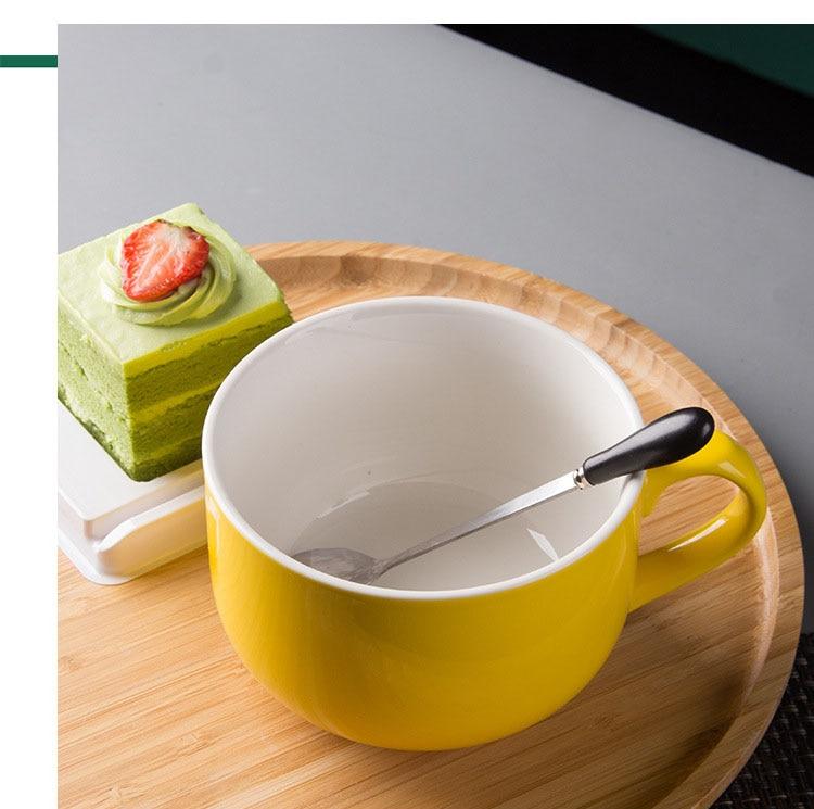 750ML Ceramic Big Coffee Milk Mug Breakfast Cup With  Handgri Travel Mug Novelty Gifts Best For Your Friends кружки canecas