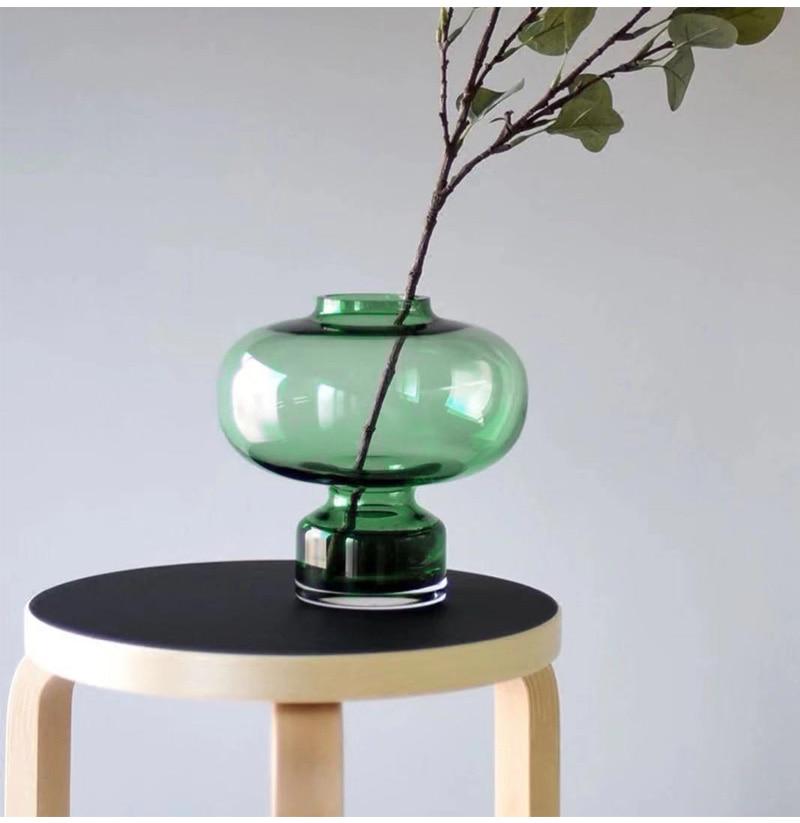 European Gourd-Shaped Glass Vase Flower Vase Hydroponic Vase Home Decoration Wedding Nordic Vase Home Decor