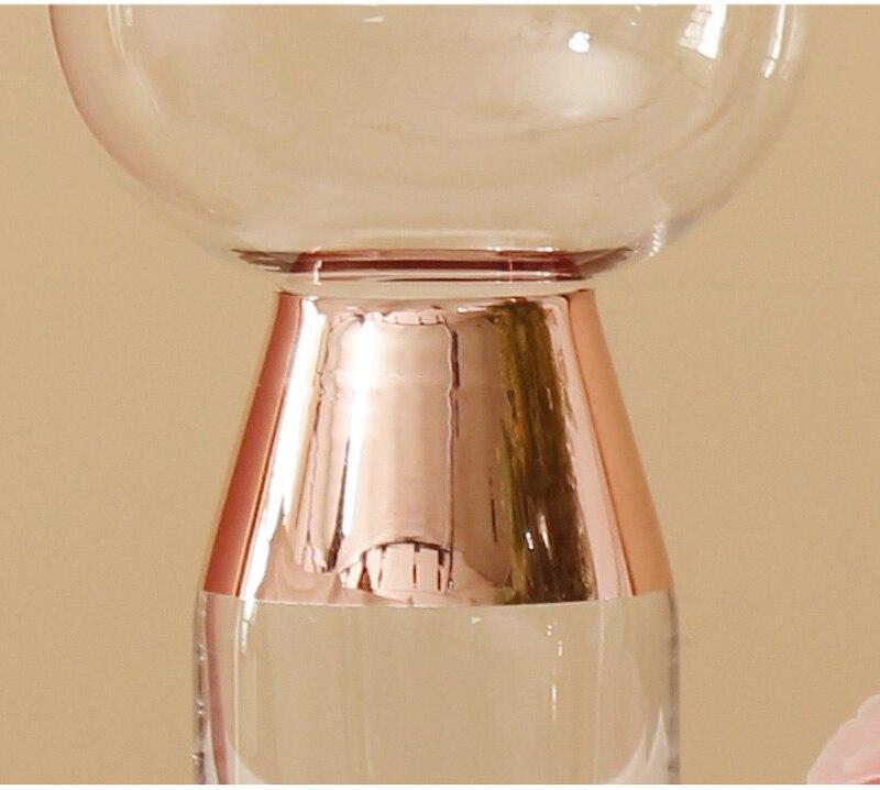 Creative Transparent Geometric Funnel Glass Flower Vase Hydroponic Device European Desktop Ornament Home Decoration Accessories