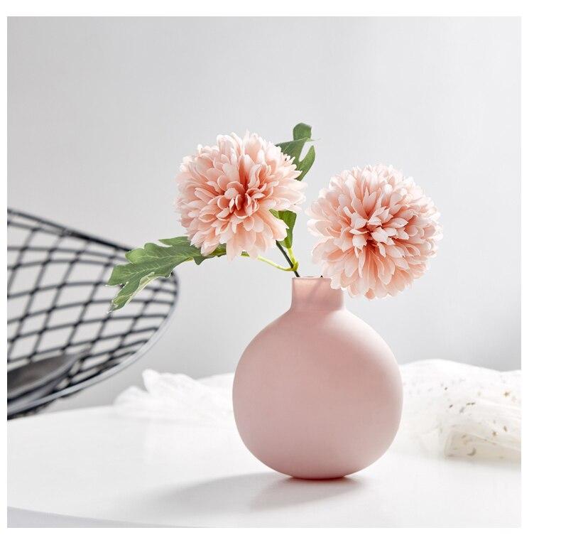 Vases for Flowers Vase Decoration Home Nordic Flower Vase Ceramic Home Decoration Accessories Modern Living Room Decoration