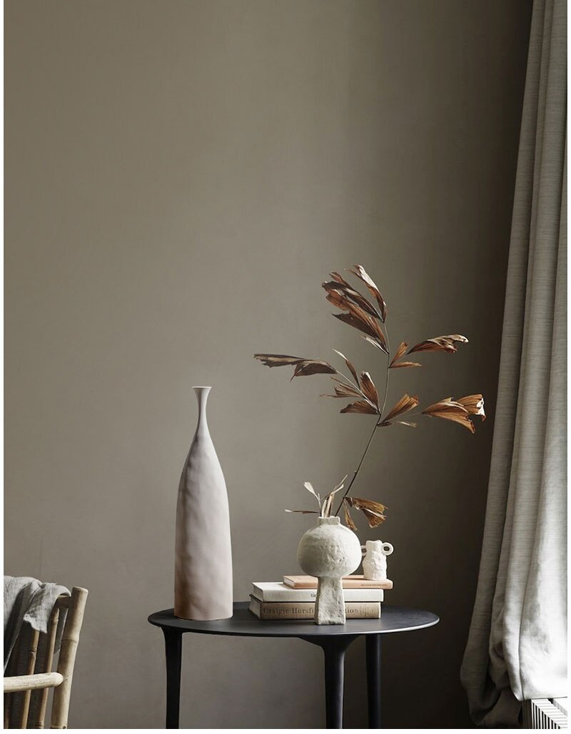 Nordic Morandi Ceramic Flower Vase Home Decoration Art Flower Vase Plant Holder Desk Hydroponics Decor Porcelain Ceramic Vase