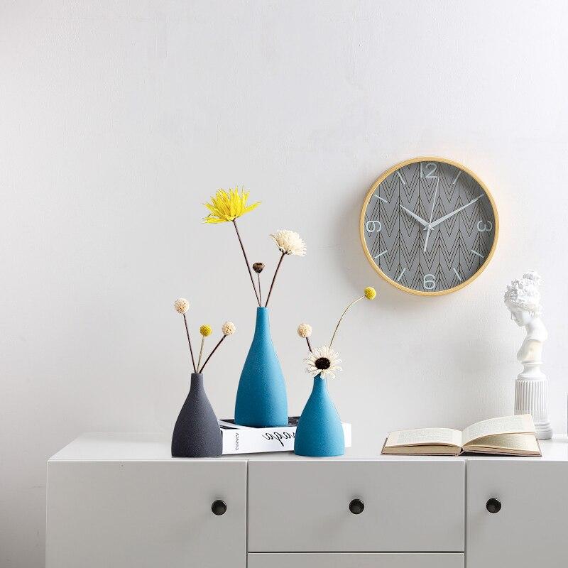 Nordic ceramics Scrub Flower arrangement accessories Flower vase Home modern decoration living room ceramic ornaments