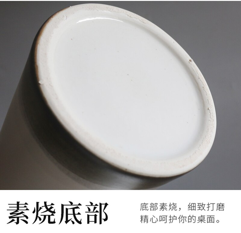 Chinese Style Retro Ceramics Vase with Cover White Modern Home Decoration Furnishings Flower Vases for Weddings Ceramic Vases