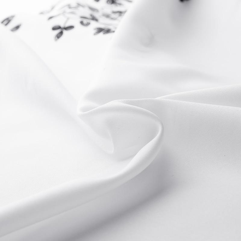 Celmia Fashion Retro Printed Women Long Lantern Sleeve Long Top Blouse Asymmetrical Tunic Shirt Casual Loose Blusas Mujer 5XL 7