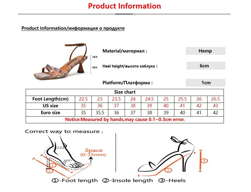 Natascha Women Sandals Fashion Woman Pumps Square Toe High Heels Open Toe Ladies Shoes Summer Ankle Strap Bonded Leather Rubber