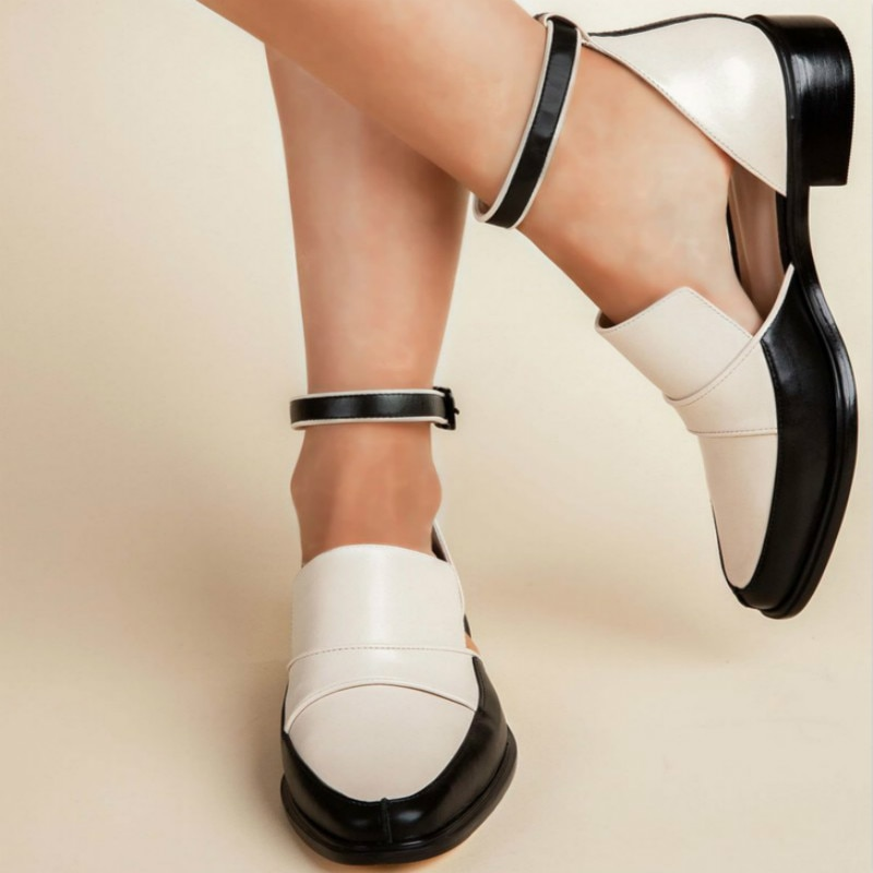 Women Sandals Summer Shoes 2019 New Ankle Strap Ladies Shoes Black/white Casual Shoes Plus Size 34-43 Chaussure Femme ghj6