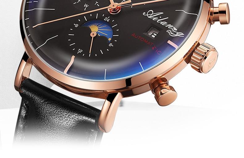 AILANG Design Brand Automatic Swiss Watch Men Mechanical Diver Watches Men's Diesel Watch SSS Minimalist male 2019 Minimalism