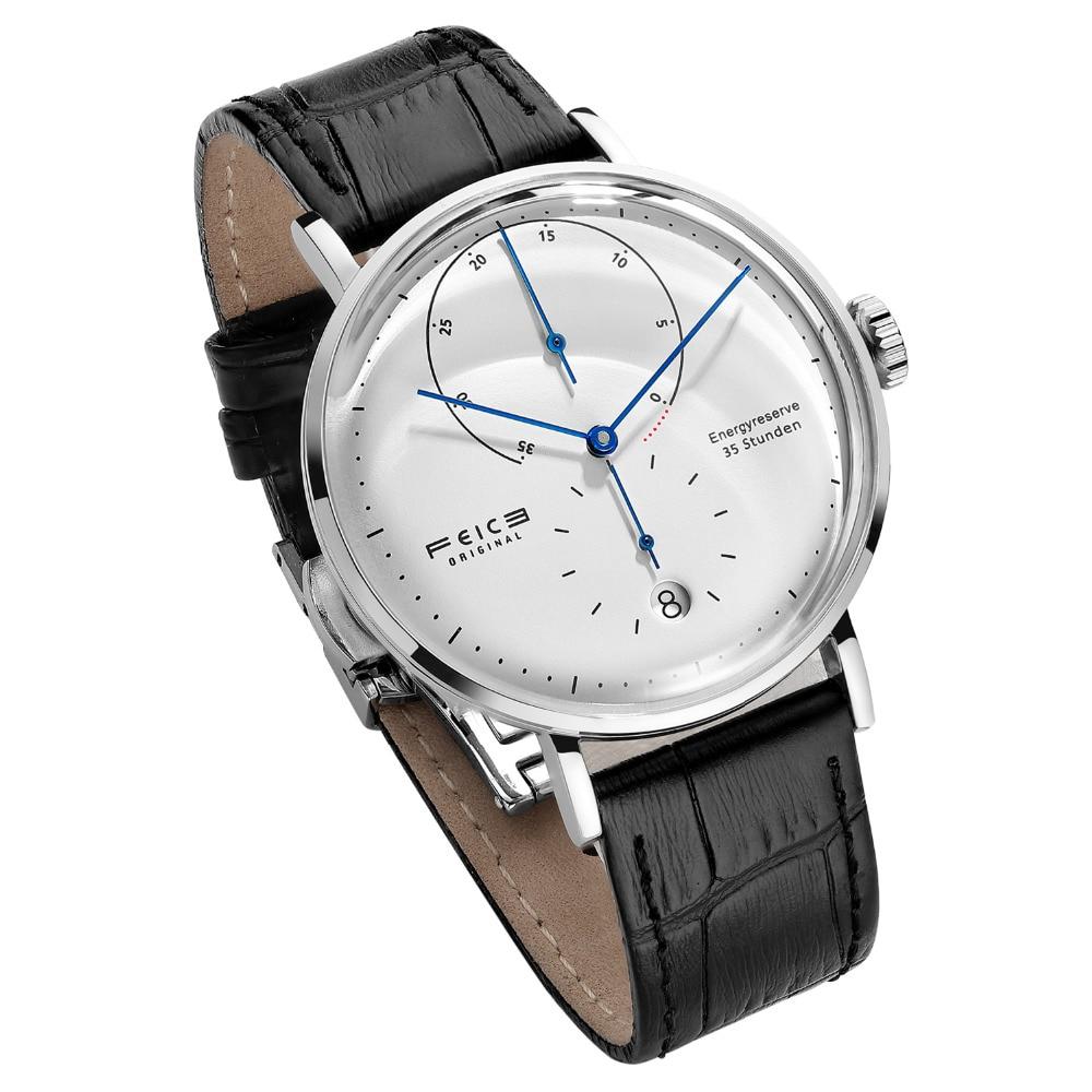 FEICE FM202 Bauhaus Men's Automatic Mechanical WristWatch Fashion  Energy Reserve Waterproof Classic Watches Support Dropship